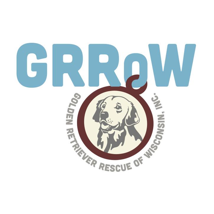 Golden Retriever Rescue of Wisconsin Logo Design