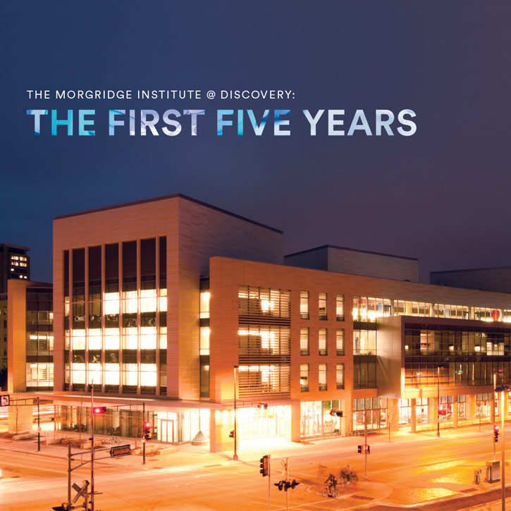 Morgridge Corporate Brochure - Five Year Report